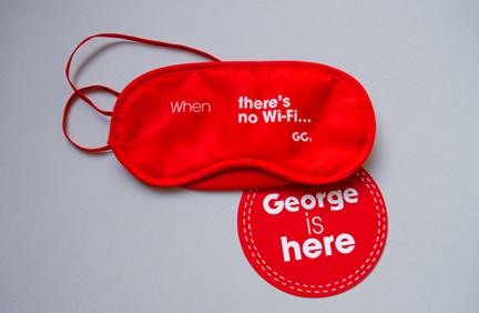 George is here